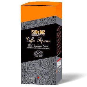 قهوه فوری سوپریم همراه با پودر قارچ گانودرما و جینسینگ دکتر بیز 20 عددی -ایبو کالا