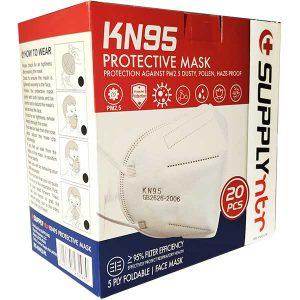 ماسک تنفسی KN95 بسته 20 عددی - ایبو کالا