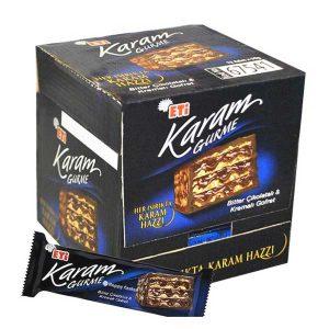 ویفر شکلاتی ایتی کارام ETI Karam تلخ 50 گرم -ایبو کالا
