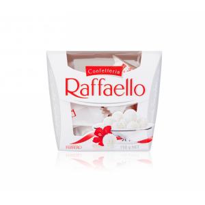 شکلات رافائلو Raffaello با مغز خامه و بادام -ایبو کالا