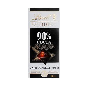 شکلات لینت Lindt مدل اکسلنس تلخ 90 درصد -ایبو کالا