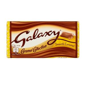 شکلات گلکسی Galaxy با مغز کارامل نرم 135 گرمی -ایبو کالا