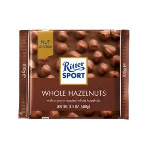 شکلات ریتر اسپرت Ritter sport فندقی 100 گرمی -ایبو کالا
