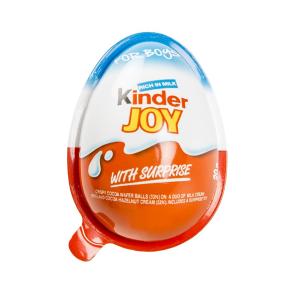 تخم مرغ شانسی کیندر جوی Kinder Joy پسرانه -ایبو کالا