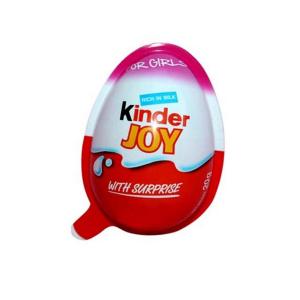 تخم مرغ شانسی کیندر جوی Kinder Joy مدل دخترانه -ایبو کالا