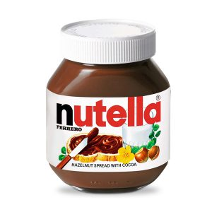 شکلات صبحانه نوتلا nutella ایتالیا 750 گرمی -ایبو کالا
