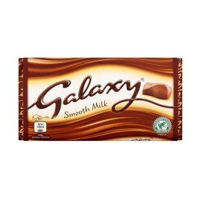 شکلات گلکسی Galaxy شیری 110 گرمی -ایبو کالا