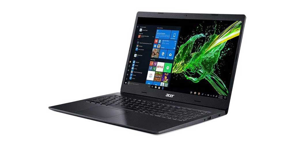 لپ تاپ ایسر مدل Acer Aspire3 A315-42-R42H-B Ryzen7 3700U-8GB-1TB+128GB -ایبو کالا