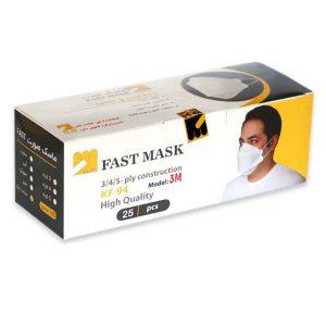 ماسک KF94 فست سه بعدی 25 عددی - ایبو کالا