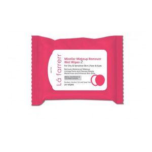 دستمال مرطوب آرایش پاک کن لافارر پوست خشک و حساس -ایبو کالا