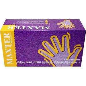 دستکش لاتکس بدون پودر مکستر MAXTER صد عددی - ایبو کالا