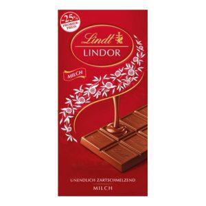 شکلات شیری لینت مدل لیندور تخت -ایبو کالا
