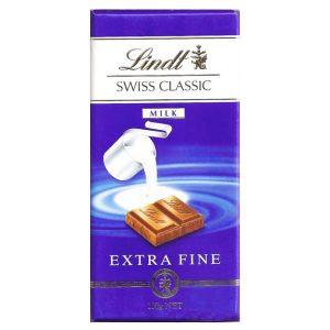 شکلات لینت lindt مدل سوئیس کلاسیک شیری -ایبو کالا