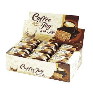 بیسکویت قهوه کافی جوی بسته 18 عددی - ایبو کالا