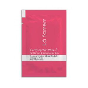 دستمال مرطوب پاکسازی کننده لافارر پوست معمولی و مختلط -ایبو کالا