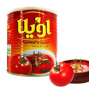 رب گوجه فرنگی اویلا کلید دار 800 گرمی 12 عددی - ایبو کالا