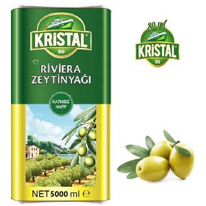 روغن زیتون بکر کریستال Kristal اصل تولید ترکیه 5 لیتر - ایبو کالا.jpg