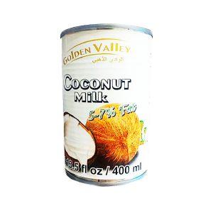 کمپوت شیر نارگیل کم شکر گلدن Valley ولی 400 میلی لیتر - ایبو کالا.jpg