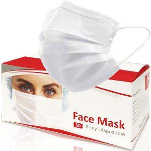 ماسک تنفسی سه لایه فیروز 50 عددی - ایبو کالا