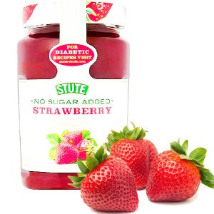 مربا دیابتی توت فرنگی اشتوت STUTE Strawberry بدون شکر تولید آلمان - ایبو کالا