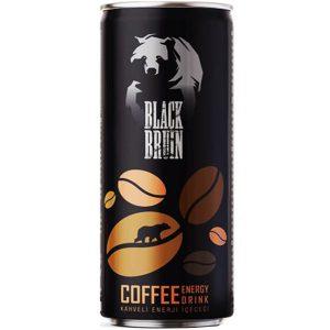 نوشابه انرژی زا با طعم قهوه بلک برن Black Bruin حجم 250 میلی لیتر - ایبو کالا
