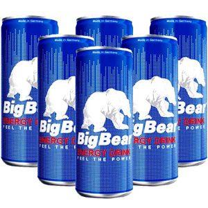نوشابه انرژی زا بیگ بیر Big Bear حجم 250 میلی لیتر - ایبو کالا