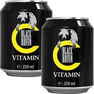 نوشابه انرژی زا ویتامین C سی بلک برن BLACK BRUIN حجم 250 میلی لیتر - ایبو کالا