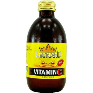 نوشابه انرژی زا ویتامین C سی لئونارد 240 میلی لیتر - ایبو کالا