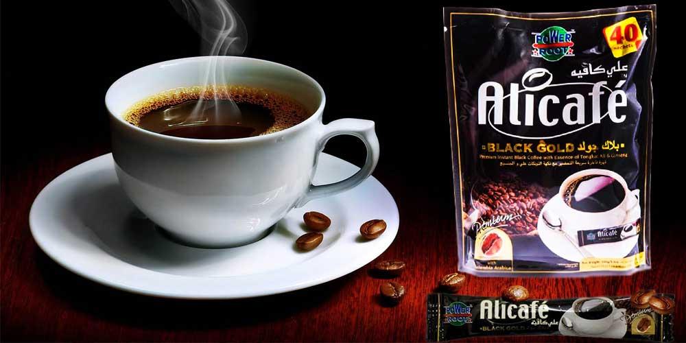 پودر قهوه فوری بلک گلد علی کافه 40 عددی -ایبو کالا