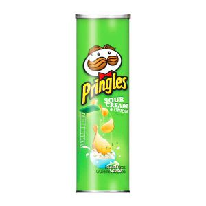 چیپس پرینگلز Pringles با طعم خامه ترش و پیاز - ایبو کالا