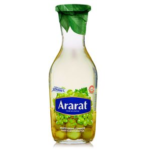 کمپوت انگور سبز آرارات Ararat حجم 1100 میلی لیتر - ایبو کالا